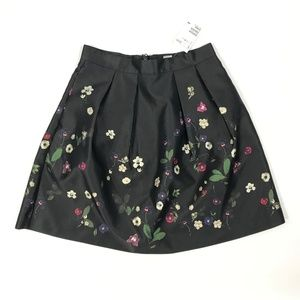 NEW H&M Floral A Line Skirt